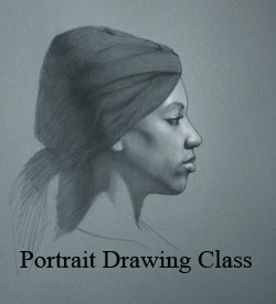 Portrait Drawing Class Victoria BC